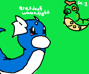 Dratini doesn't want to Fight