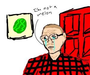 Sad watermelon