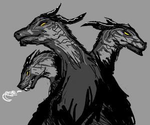 cerberus but dragon heads.