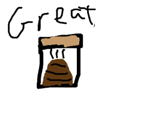 """The new, GREAT product; """"Poop in a jar!"""""""