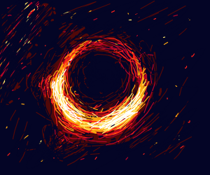 Black Hole NASA Picture