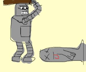 Bender killed a seal