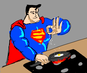 superman cooking