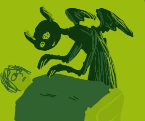 Sleep paralysis demon at sick's bedside