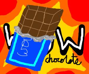 wow! chocolate!