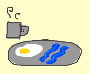 blue bacon