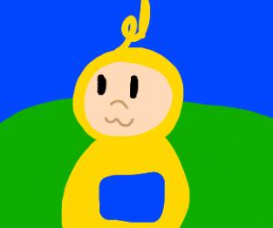 yellow teletubbie