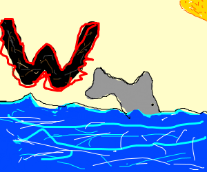 "Dolphins are afraid of the Letter ""W"""