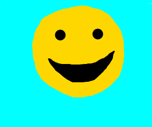 Yellow Smile Face