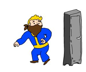 Vault Boy sneaking