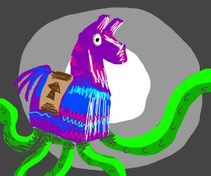 fortnite llama but its octopus tentacles - fortnite octopus