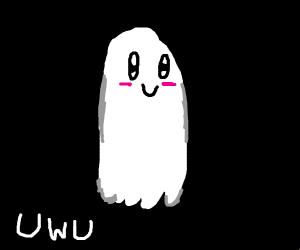 kawaii ghost uwu
