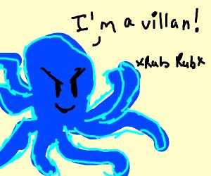 Octopus Villain