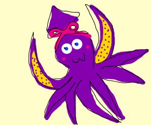 cute octupus / squid