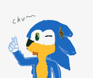 Sonic but like kawaii.
