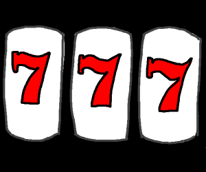Slot machine 3 sevens in a row
