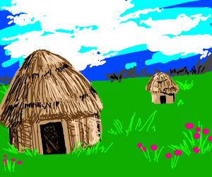 Ancient Huts