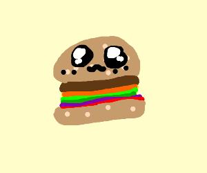 Cute Hamburger