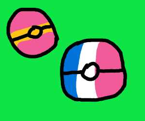 Spanish and Frence Pokeball