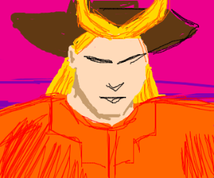 All Might but a cowboy