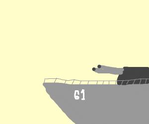 the USS Iowa