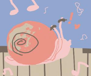 music Snail