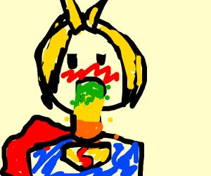 Superhero Barfing