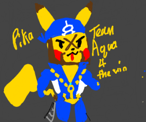 Archie but he's pikachu