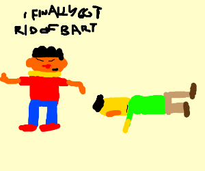 ERNIE finally ridded of Bart