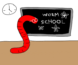 Slither.io snake in a school