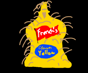 Hairy Mustard Bottle