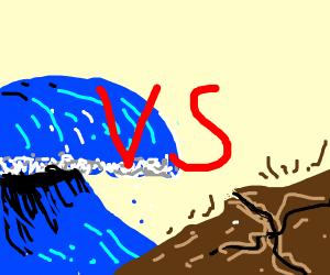 tsunamis vs earthquakes