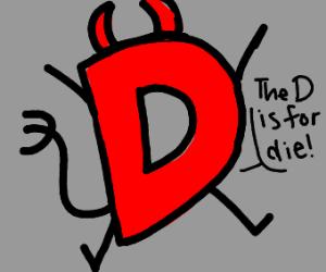 Evil Red drawception d