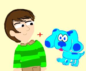 Steve and Blue (blues clues)