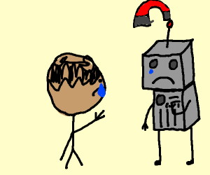 Boy's robot is stolen
