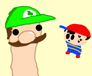 Luigi vs Ness