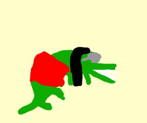 Retro Alligator