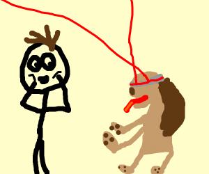 Laser Dog Adoption