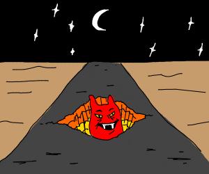 pothole to the underworld