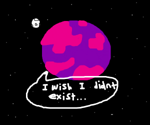 A xeno planet dreads existence