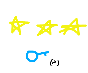 male and three stars