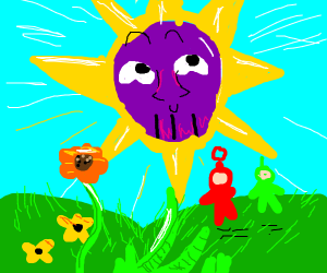 The sun becomes Thanos?