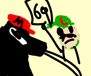 Mario is a furry and Luigi is judging