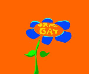 Flower calls ur mum gae