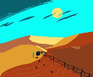 Desert Ski Trip