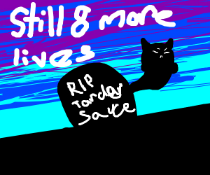 Grumpy cat still has 8 lives left