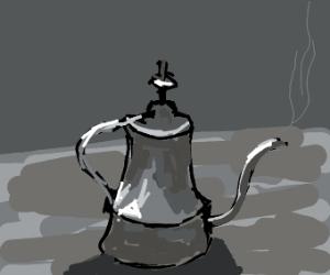 Hot teakettle