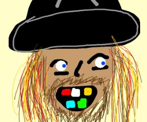 Pirate with rainbow teeth?