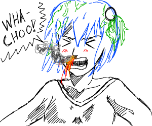 Volcanoes are just earth-chan sneezing