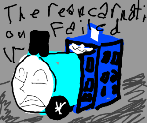 Thomas the train is the TARDIS
